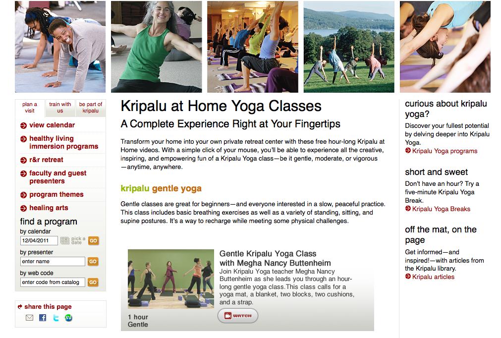 Kripalu Yoga Flowtation Devices