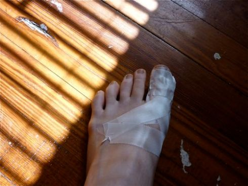Taped Toe
